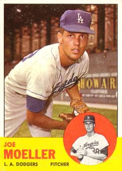 1963 Topps #53 Joe Moeller RC