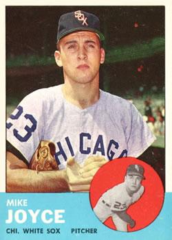 1963 Topps #66 Mike Joyce RC