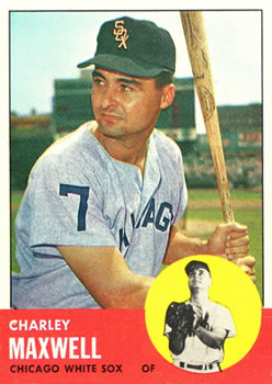 1963 Topps #86 Charley Maxwell