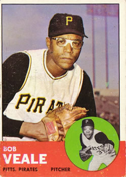 1963 Topps #87 Bob Veale