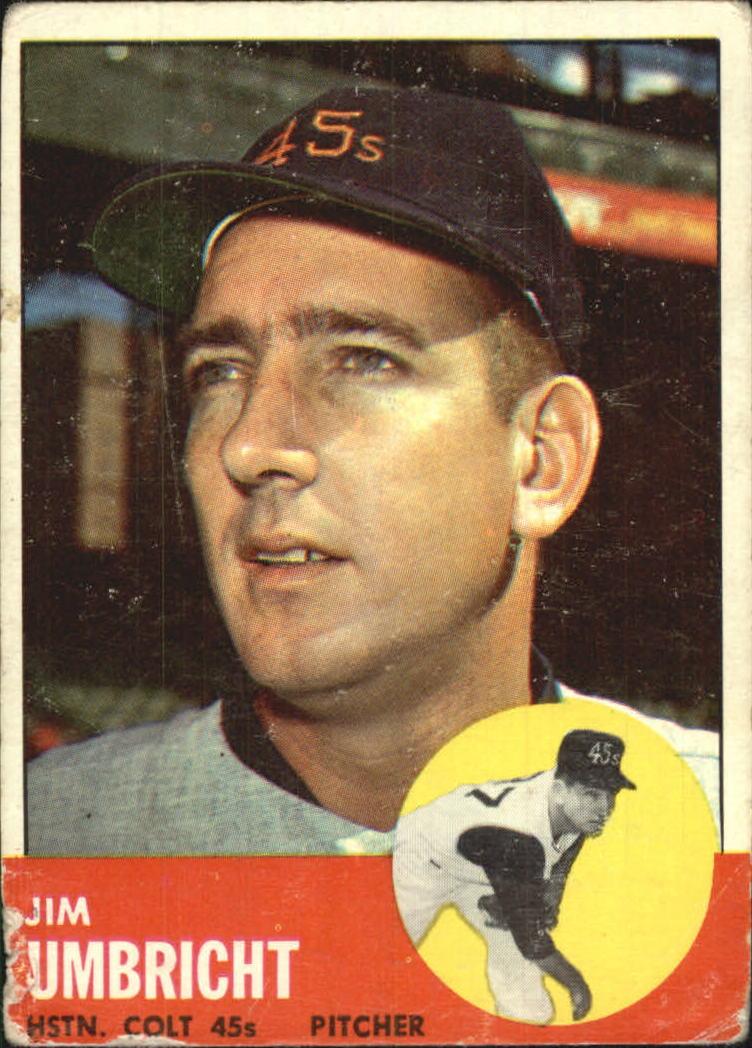 1963 Topps #99 Jim Umbricht