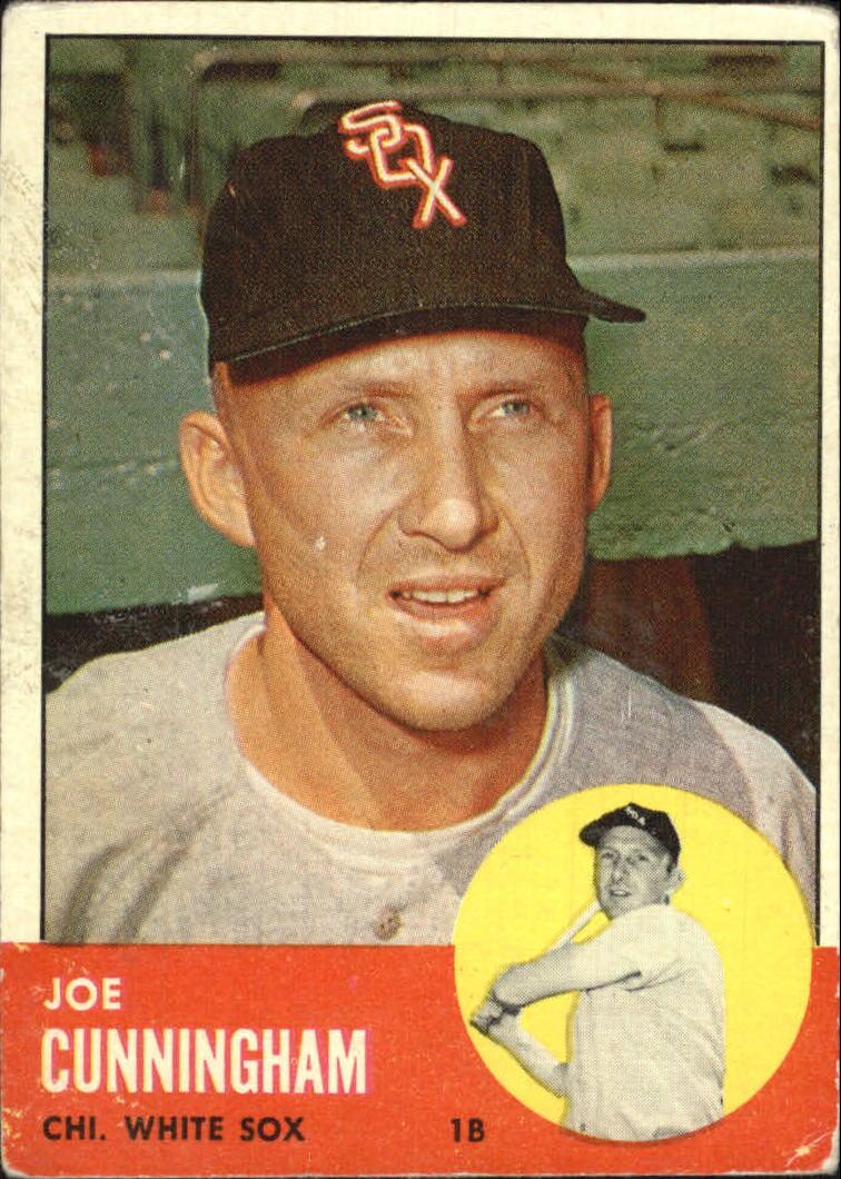 1963 Topps #100 Joe Cunningham