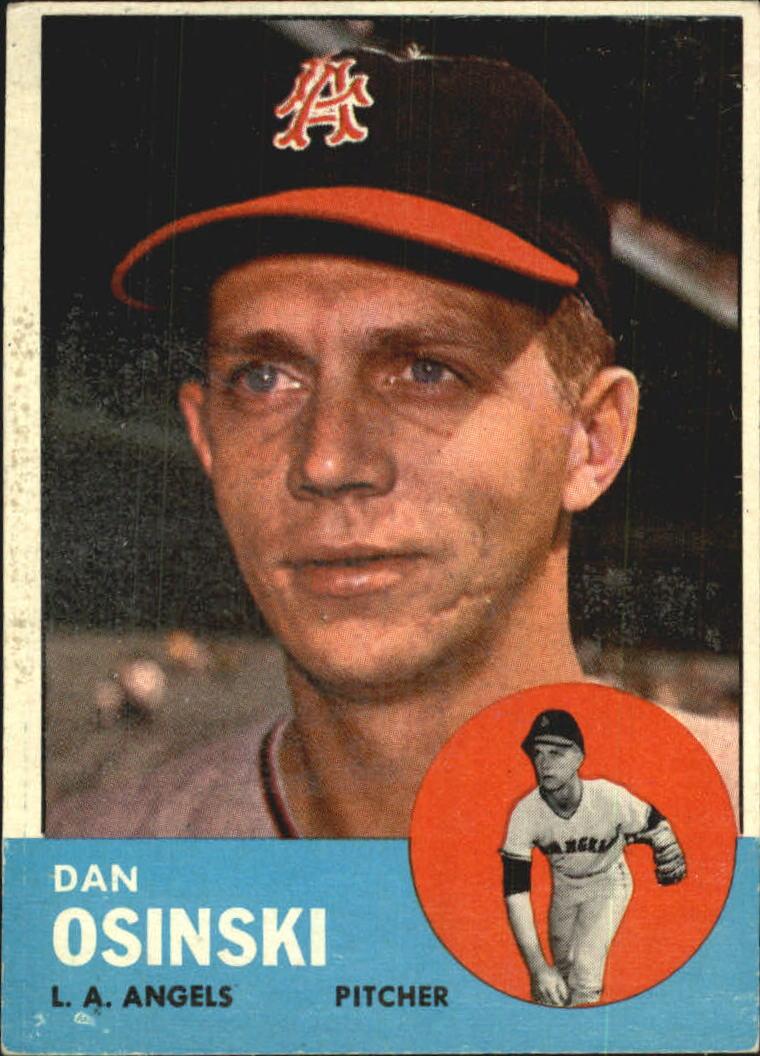 1963 Topps #114 Dan Osinski RC