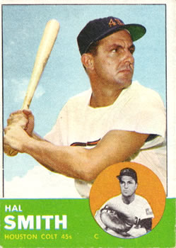 1963 Topps #153 Hal Smith