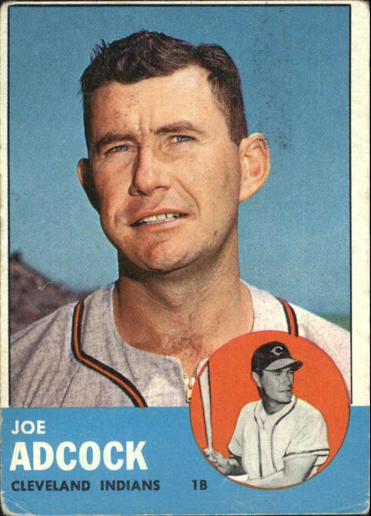 1963 Topps #170 Joe Adcock