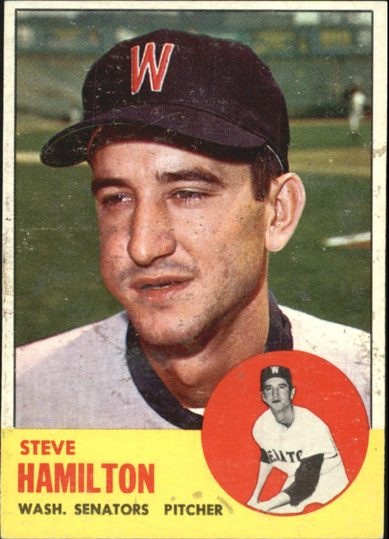 1963 Topps #171 Steve Hamilton RC
