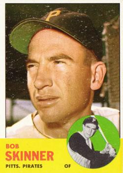 1963 Topps #215 Bob Skinner