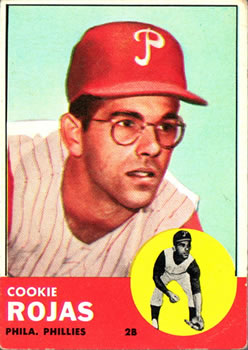 1963 Topps #221 Cookie Rojas RC