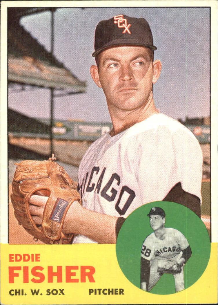 1963 Topps #223 Eddie Fisher