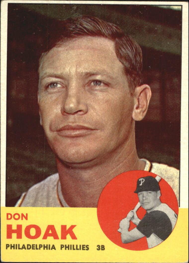 1963 Topps #305 Don Hoak