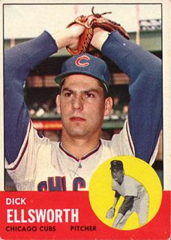 1963 Topps #399 Dick Ellsworth