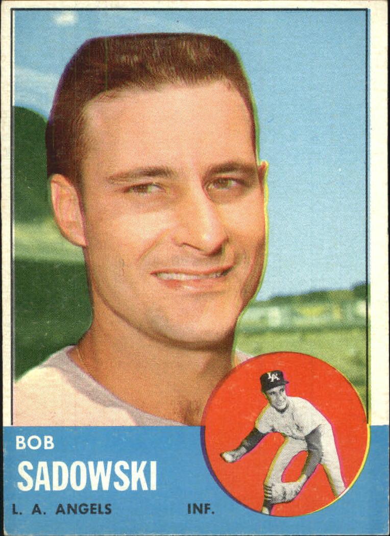 1963 Topps #568 Bob Sadowski