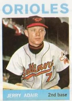 1964 Topps #22 Jerry Adair