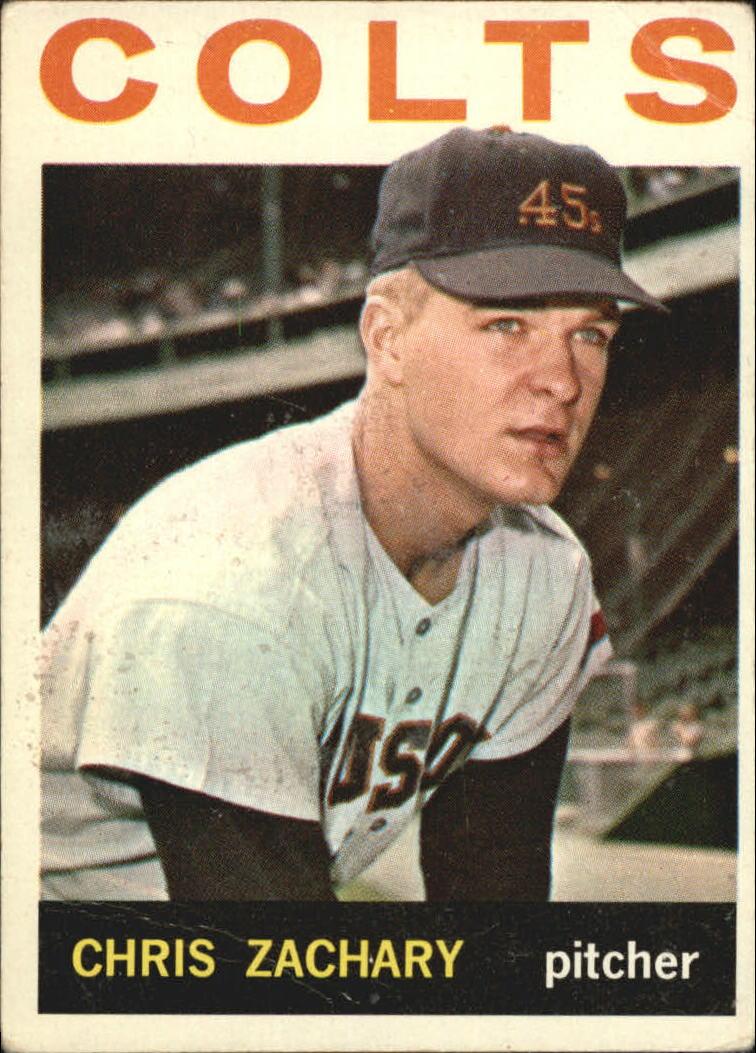 1964 Topps #23 Chris Zachary RC