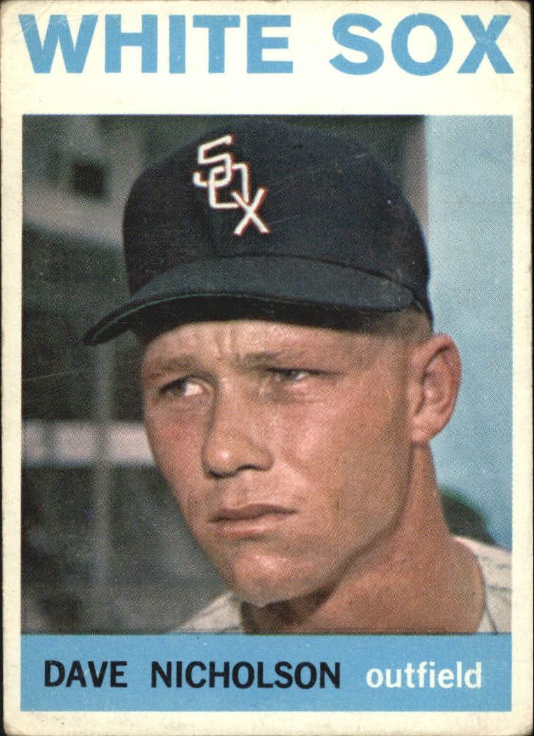 1964 Topps #31 Dave Nicholson