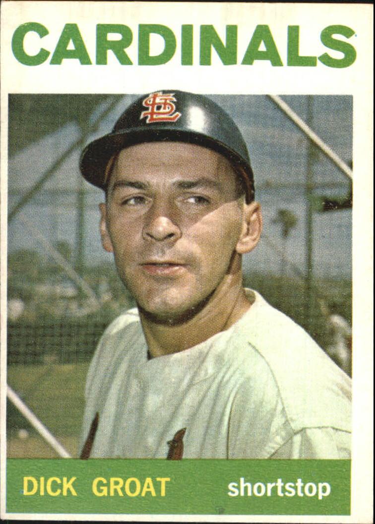 1964 Topps #40 Dick Groat