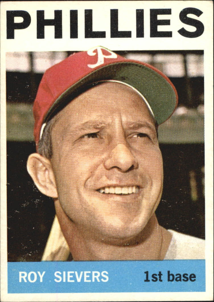 1964 Topps #43 Roy Sievers