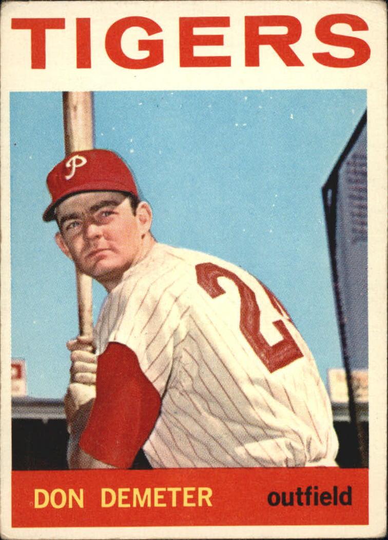 1964 Topps #58 Don Demeter