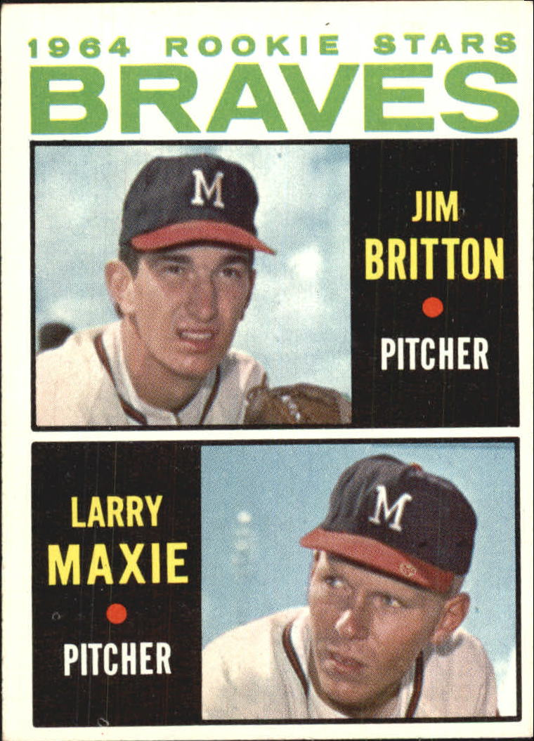 1964 Topps #94 Rookie Stars/Jim Britton RC/Larry Maxie RC