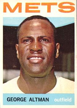 1964 Topps #95 George Altman