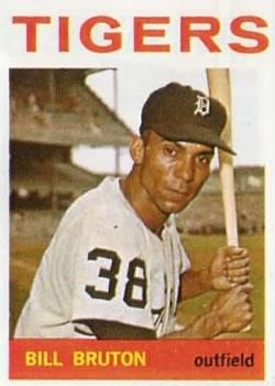 1964 Topps #98 Bill Bruton