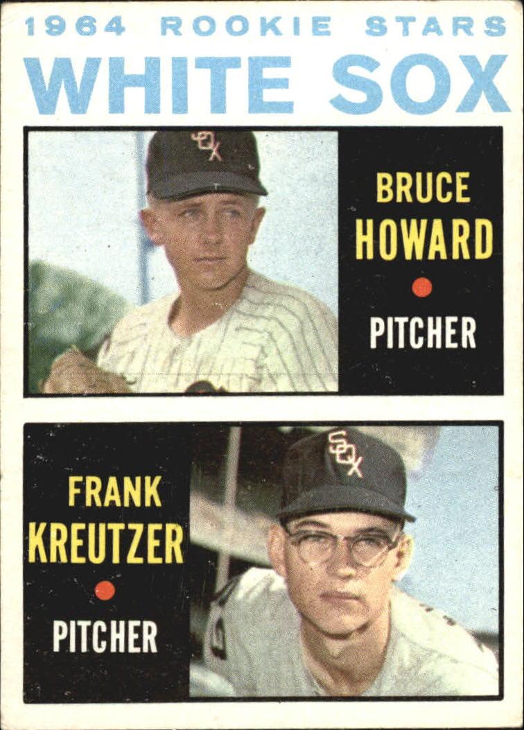 1964 Topps #107 Rookie Stars/Bruce Howard RC/Frank Kreutzer RC
