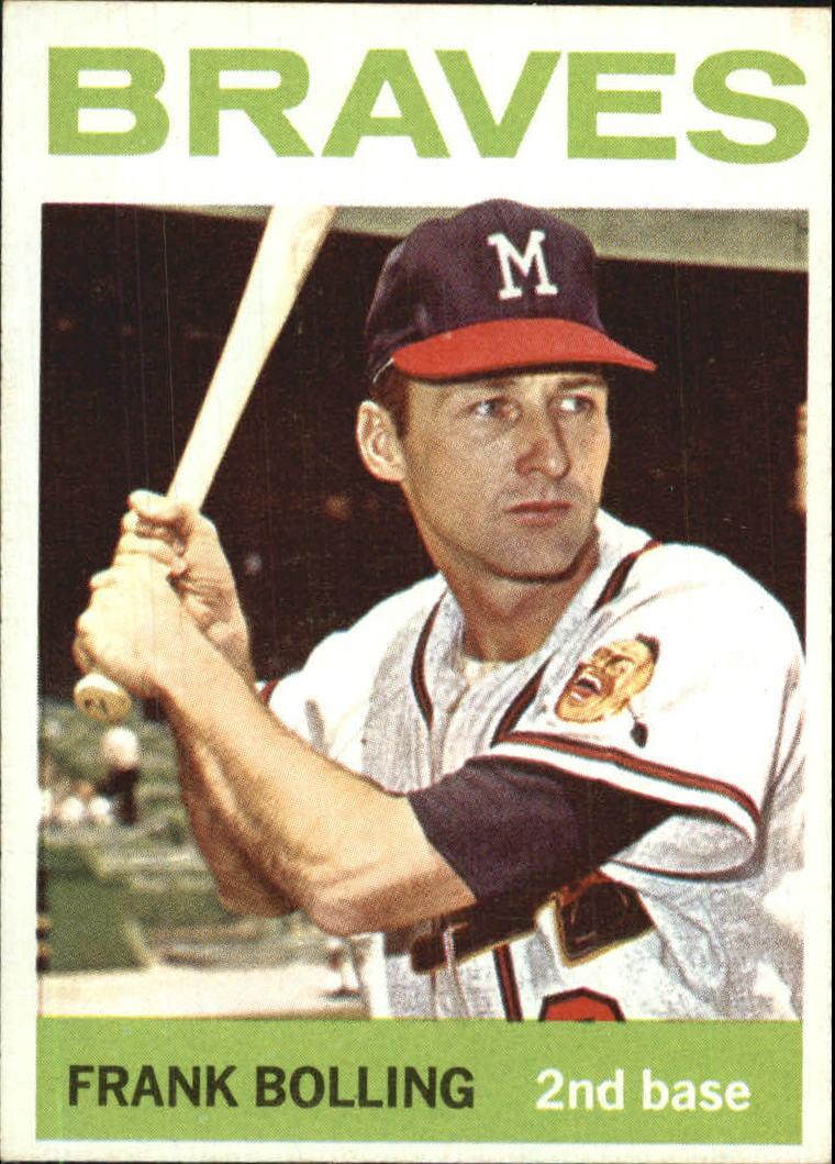 1964 Topps #115 Frank Bolling