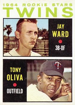1964 Topps #116 Rookie Stars/Jay Ward RC/Tony Oliva