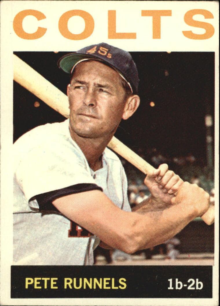 1964 Topps #121 Pete Runnels