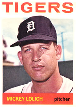 1964 Topps #128 Mickey Lolich RC
