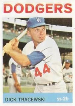 1964 Topps #154 Dick Tracewski RC