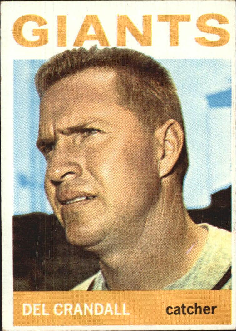 1964 Topps #169 Del Crandall