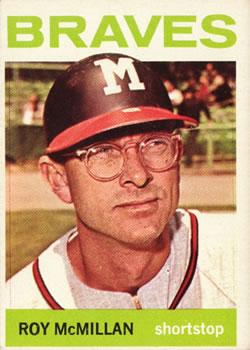 1964 Topps #238 Roy McMillan