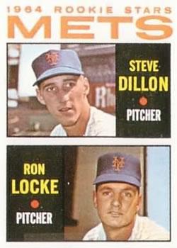 1964 Topps #556 Rookie Stars/Steve Dillon RC/Ron Locke RC