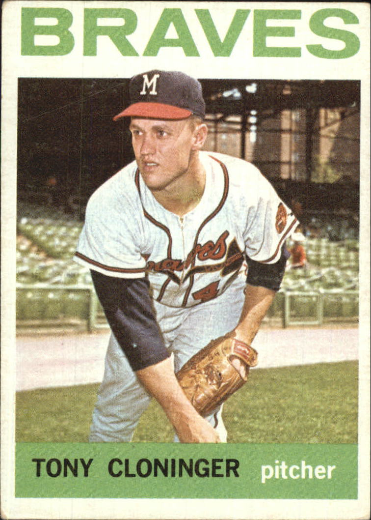 1964 Topps #575 Tony Cloninger