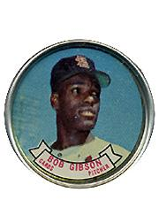 1964 Topps Coins #59 Bob Gibson
