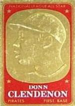 1965 Topps Embossed #9 Donn Clendenon