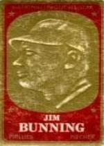 1965 Topps Embossed #17 Jim Bunning
