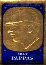 1965 Topps Embossed #20 Milt Pappas