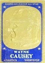 1965 Topps Embossed #21 Wayne Causey