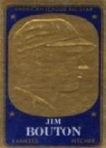 1965 Topps Embossed #25 Jim Bouton