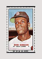 1965 Bazooka #23 Bob Gibson