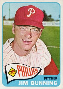 1965 Topps #20 Jim Bunning