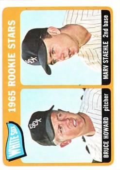 1965 Topps #41 Rookie Stars/Bruce Howard/Marv Staehle RC