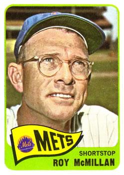 1965 Topps #45 Roy McMillan