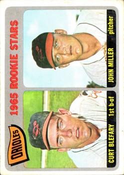 1965 Topps #49 Rookie Stars/Curt Blefary RC/John Miller