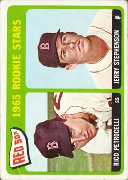 1965 Topps #74 Rookie Stars/Rico Petrocelli RC/Jerry Stephenson RC