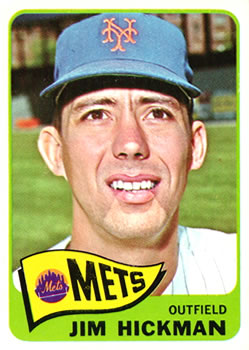 1965 Topps #114 Jim Hickman