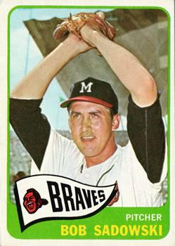 1965 Topps #156 Bob Sadowski