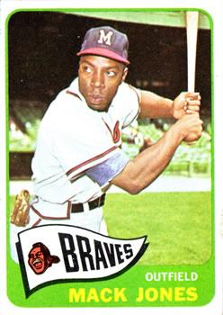 1965 Topps #241 Mack Jones